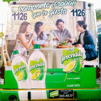 LIMONADA 7UP AUTOBUS INTEGRAL SLP